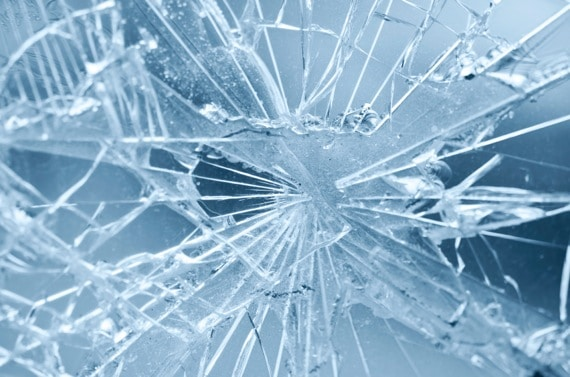 Shattered Glass - Photo courtesy of ©iStockphoto.com/digihelion, Image #14247835