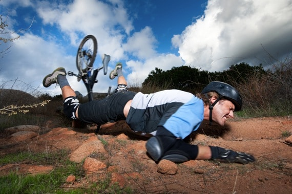 An Extreme Mountain Bike Crashing - Photo courtesy of ©iStockphoto.com/MichaelSvoboda, Image #14826906