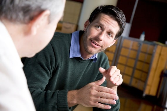 A Mentor Talking to His Mentee - Photo courtesy of ©iStockphoto.com/asiseeit, Image #9854027