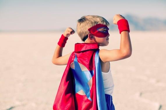 A Young Superhero - Photo courtesy of ©iStockphoto.com/RichVintage, Image #14444389