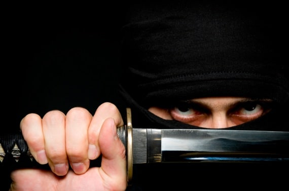A Ninja Assassin - Photo courtesy of ©iStockphoto.com/by_nicholas, Image #14879784