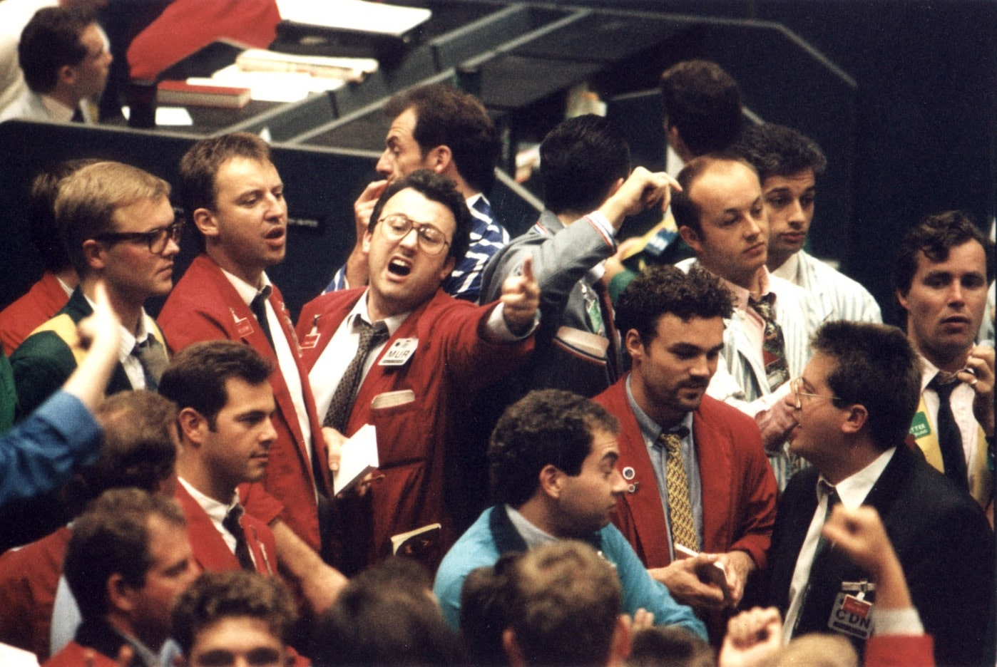 Stock Trading Pit