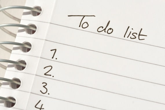 To-Do List -Photo courtesy of ©iStockphoto.com/SparkleArt, Image #5092097