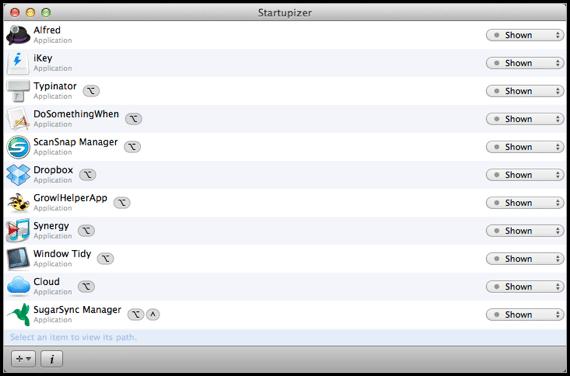 My Startupizer Screen
