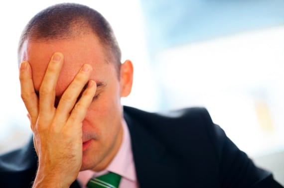 A Frustrated Employee - Photo courtesy of ©iStockphoto.com/J-Elgaard, Image #16731921