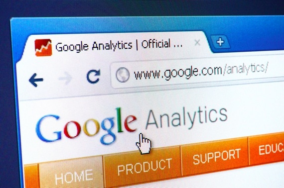 Google Analytics Inside a Browser - Photo courtesy of ©iStockphoto.com/gmutlu, Image #16132814