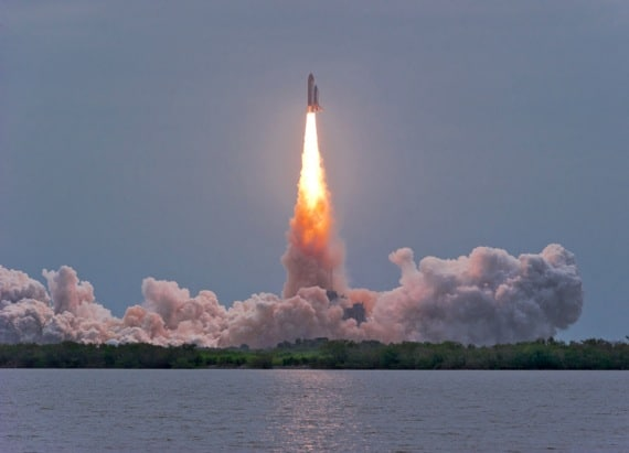 The Last Flight of the Space Shuttle Atlantis - Photo courtesy of ©iStockphoto.com/Neutronman, Image #19528606
