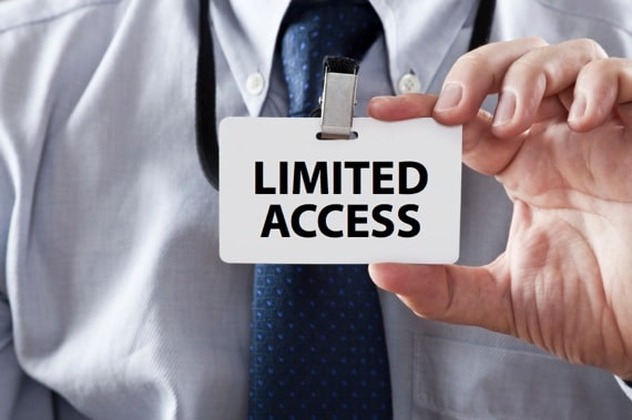 Limited Access - Photo courtesy of ©iStockphoto.com/ugurhan, Image #13855601