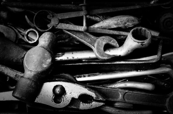 Some Well-Used Tools - Photo courtesy of ©iStockphoto.com/jfmdesign, Image #10304861