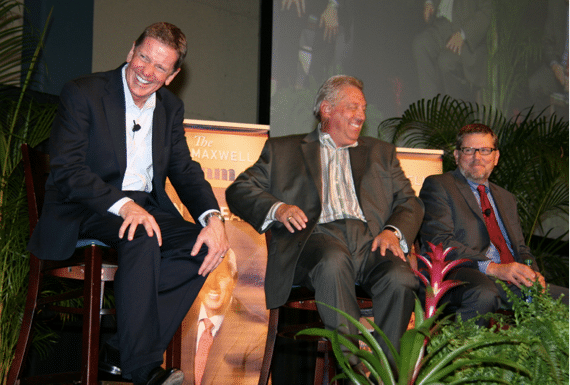 Michael Hyatt, John Maxwell, and Charlie Wetzel