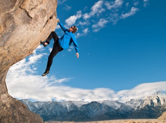 Cliff Hanger - Photo courtesy of ©iStockphoto.com/MichaelSvoboda, Image #18733740