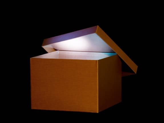 A Glowing Mystery Box - Photo courtesy of ©iStockphoto.com/mariusFM77, Image #5705952
