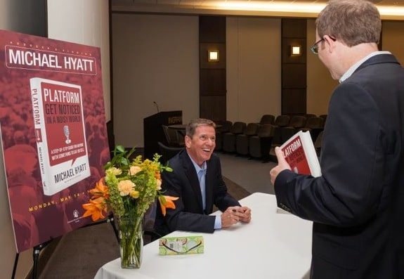 Platform Book Signing at Ingram