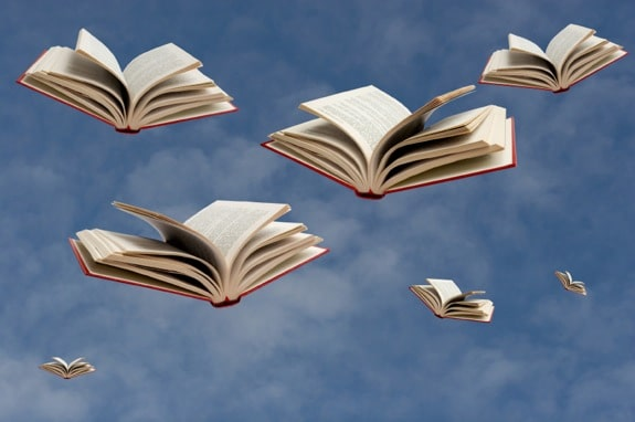 Books Flying Through the Sky - Photo courtesy of ©iStockphoto.com/LuisPortugal, Image #7235328