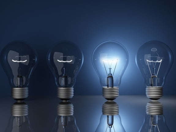 Light Bulb Illustrating Leadership - Photo courtesy of ©iStockphoto.com/shulz, Image #7320959
