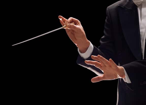 The Hands of a Symphony Conductor - Photo courtesy of ©iStockphoto.com/StudioThreeDots, Image #18995017