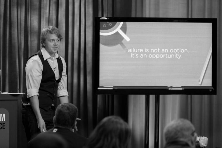 Jeff Goins Speaking at the 2013 Platform Conference
