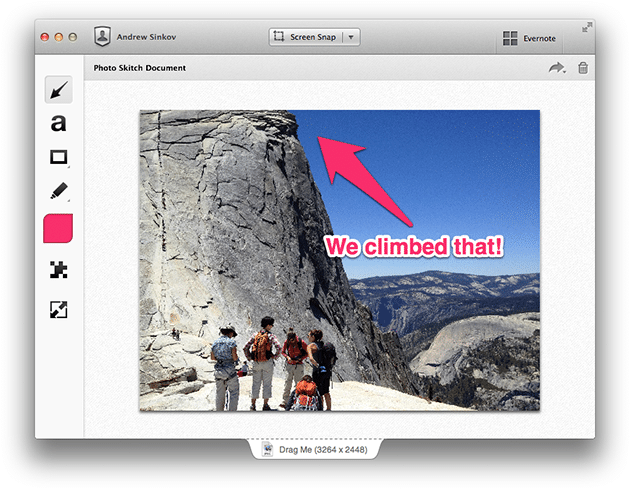 Image from Evernote