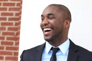 Smiling Leader