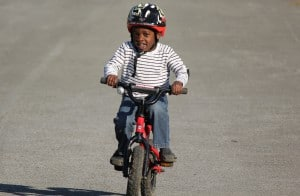 Jonah on His Bicycle