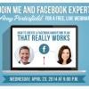 Facebook Webinar with Amy Porterfield