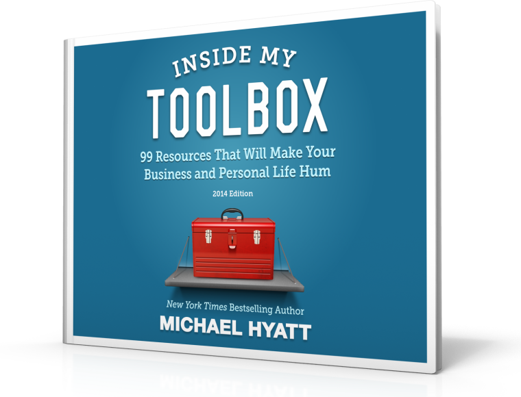 Inside My Toolbox by Michael Hyatt