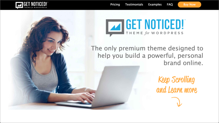 Get Noticed! Theme™ for WordPress