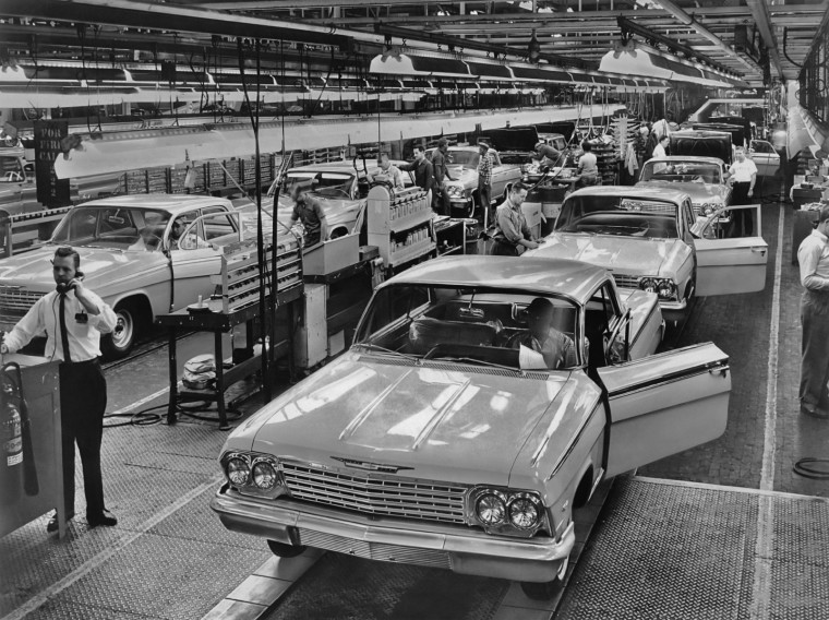 Chevrolet Production Line