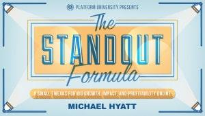 The Standout Formula Webinar