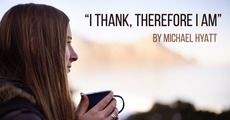 I Thank, Therefore I Am