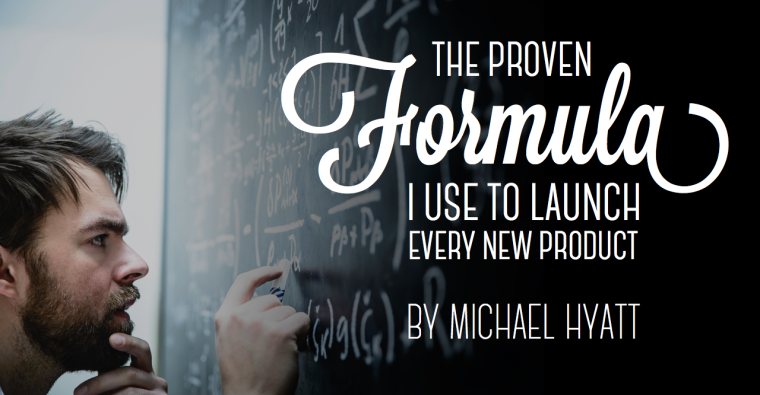 The Proven Formula I Use to Launch Every New Product