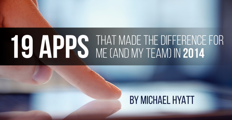 19 Apps That Made the Difference for Me (and My Team) in 2014
