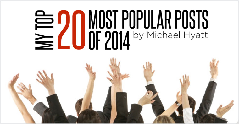 My Top 20 Most Popular Posts of 2014