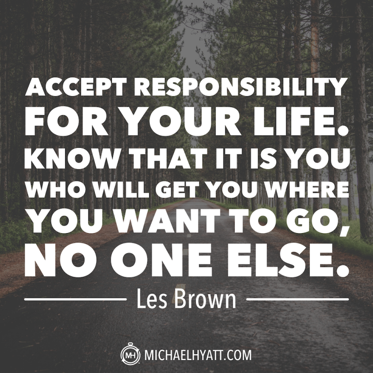 how to create responsibility in life