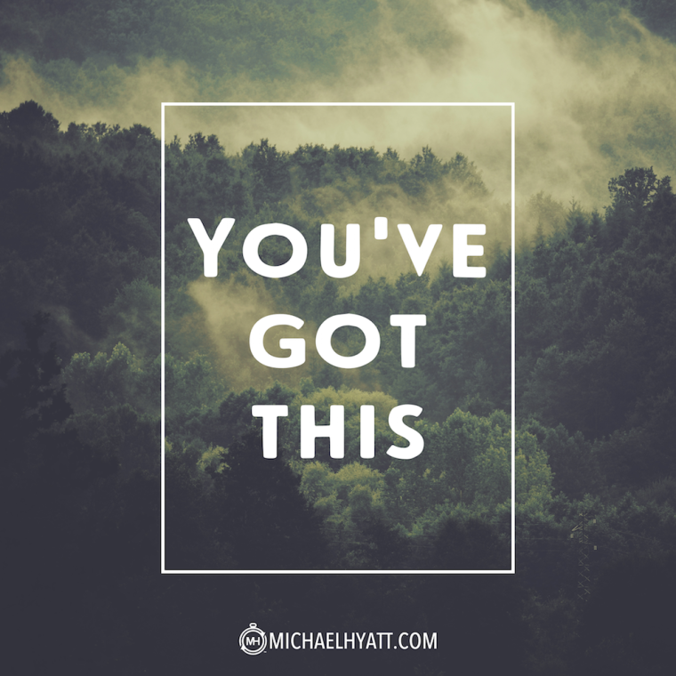 You've got this.