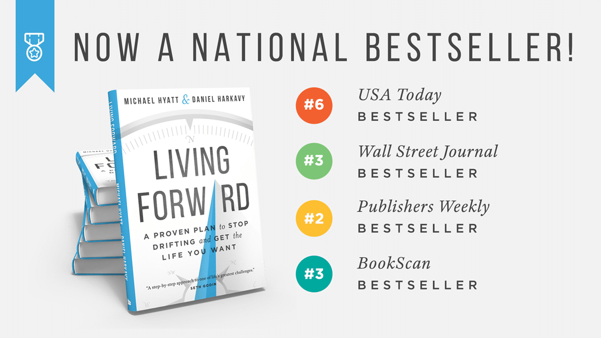 Living Forward Best Seller Lists