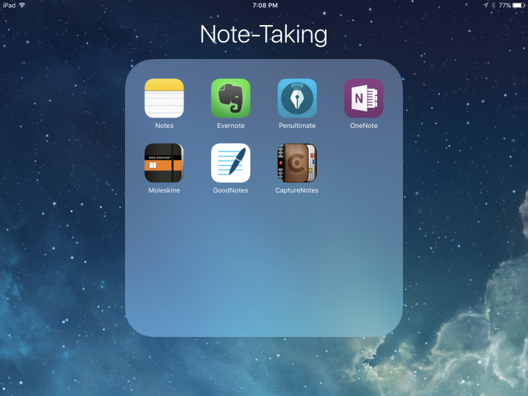 iOs Note-Taking Apps