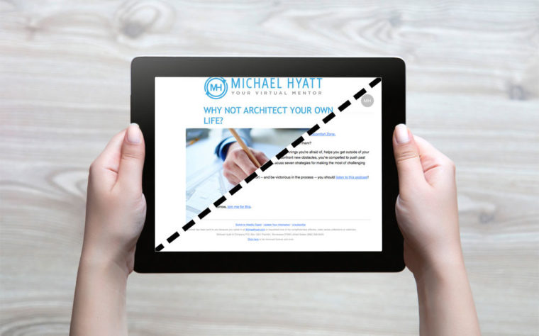 Why I Changed My Email Newsletter Strategy - Michael Hyatt