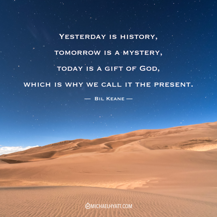Yesterday Is History Today Is A: Your Virtual Mentor