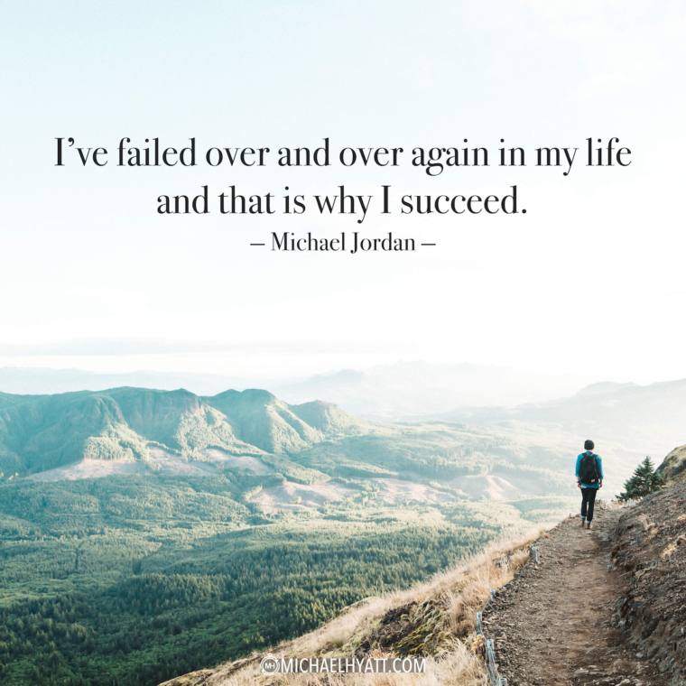 """""""I've failed over and over again in my like and that is why I succeed."""" -Michael Jordan"""